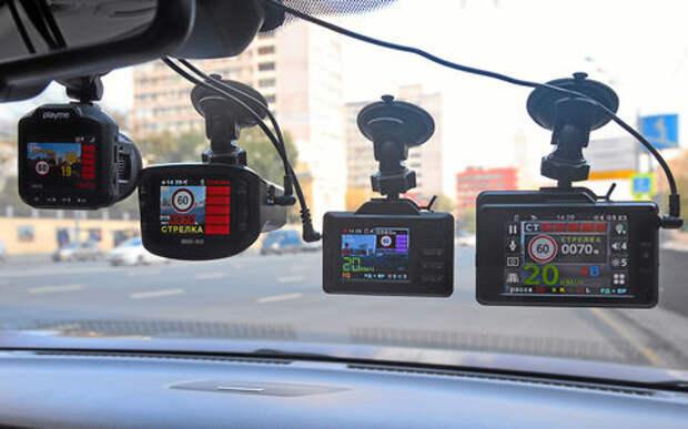 Видеорегистраторы с радар-детектором —  тест 7 моделей