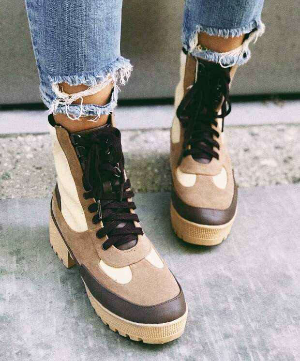 Ботинки на шнуровке: 15 способов выделиться из толпы в холодные деньки