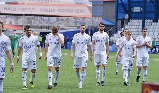 ФК «Оренбург» назвал игроков, с которым отправился на сборы
