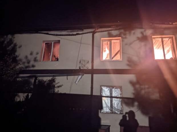 В Бахчисарайском районе случился пожар: погиб человек