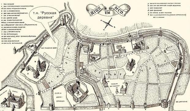 Русские жили в Риге, когда ещё никаких латышей там не было