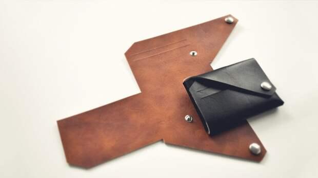 Портмоне оригами от Lemur Leather Goods