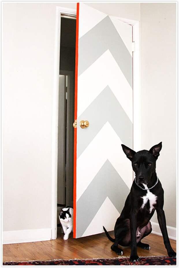Переделки двери (подборка)