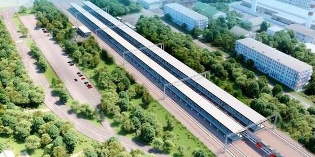 Мэр Москвы утвердил проект благоустройства территории у станции «Мещерская» Киевского направления МЖД