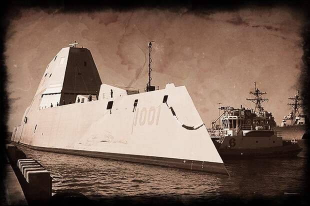 """""""Золотые утюги"""" американского флота: эсминцы Zumwalt"""