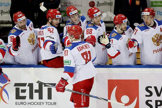 Сборная России обыграла Швецию в матче Евротура