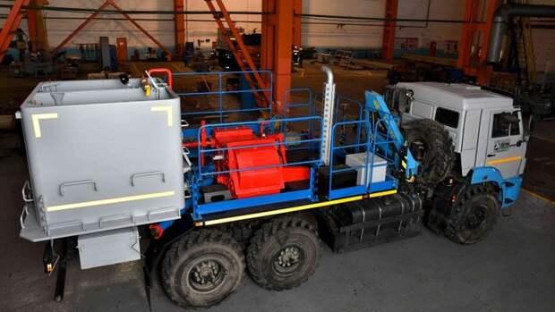 ГК«Римера» начала выпуск новой модификации спецтехники для цементирования скважин