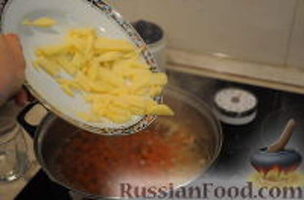 Фото приготовления рецепта: Кулеш украинский - шаг №8