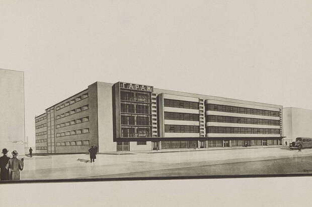 В Еврейском музее на Образцова пройдёт лекция об архитектуре гаражей