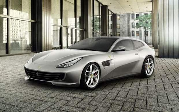 Ferrari GTC4Lusso T: без полного привода, но с турбонаддувом
