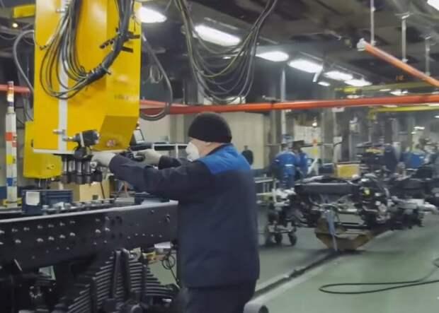 Завод Автоваз встал из-за нехватки чипов