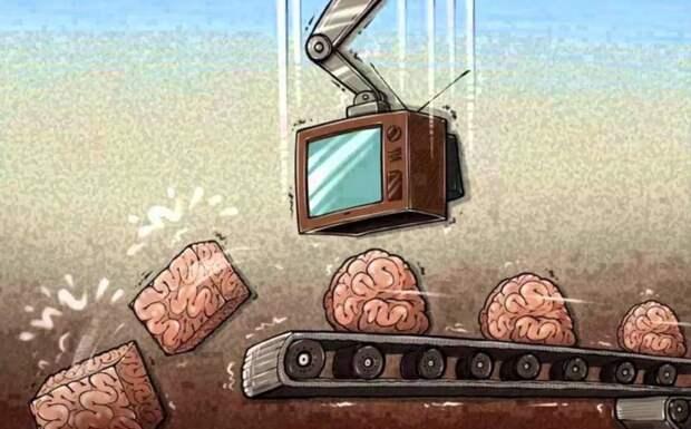 Как телезрителей держат за скот