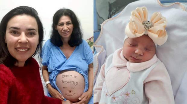 В Бразилии бабушка родила свою же внучку, чтобы спасти дочь