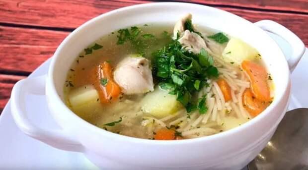 Куриный суп Рыжик. Первое блюдо из моего детства, которое я с возрастом всё также люблю 4