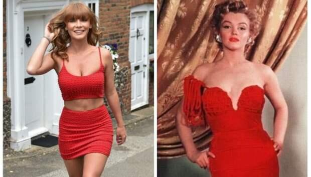 Неувядающая классика: британская модель воссоздала 5 культовых образов из голливудских фильмов