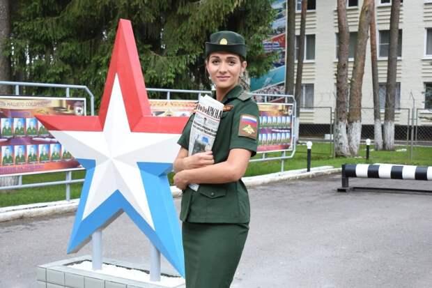 Названа первая красавица армии России