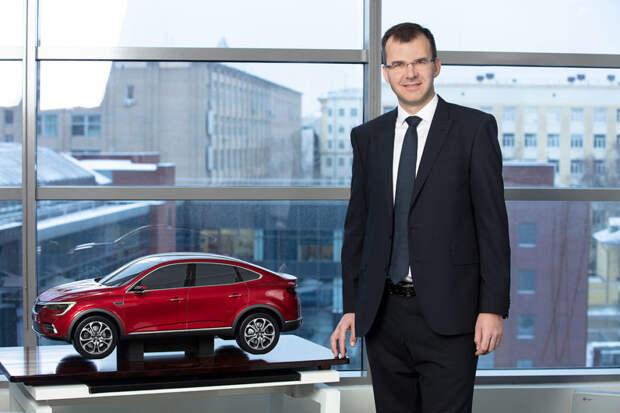 Ян Птачек: «до 2025 года мы представим в России пять новых моделей Renault»