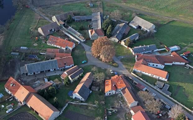 Круглые деревни — прототип славянских поселений