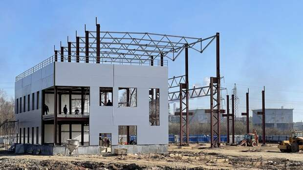 В Череповце строят новое производство