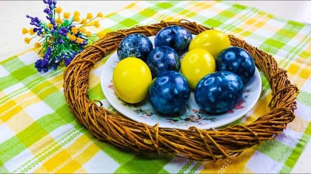 Натуральные красители для яиц: получайте яркие цвета без применения химии