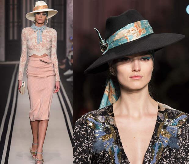 Женские широкополые шляпы