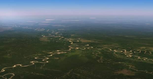 Новое обновление для Google Earth позволяет увидеть изменения на Земле за последние 37 лет