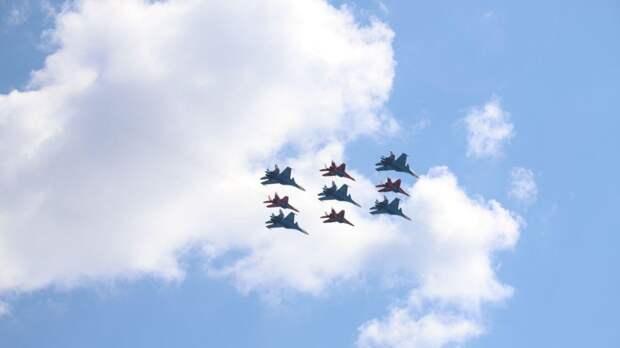 Репетиция воздушного парада состоится 5 мая в Москве