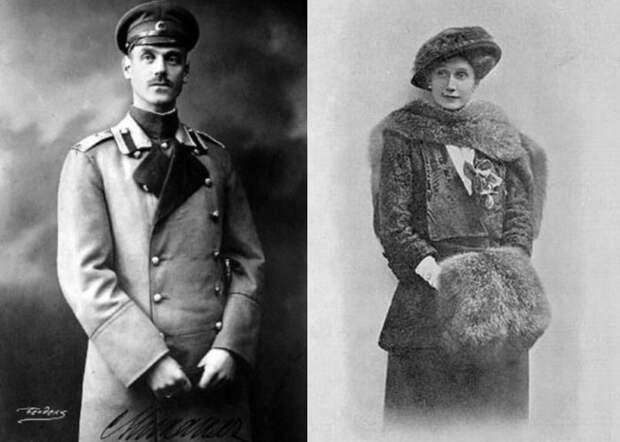 Великий князь Михаил Александрович и Наталья Сергеевна Брасова   Фото: radikal.ru и liveinternet.ru