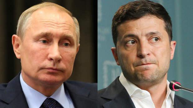 Политолог считает маловероятной встречу Путина и Зеленского после ареста Медведчука
