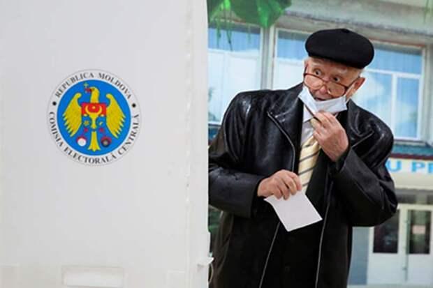 Явка напрезидентских выборах вМолдавии превысила 48процентов