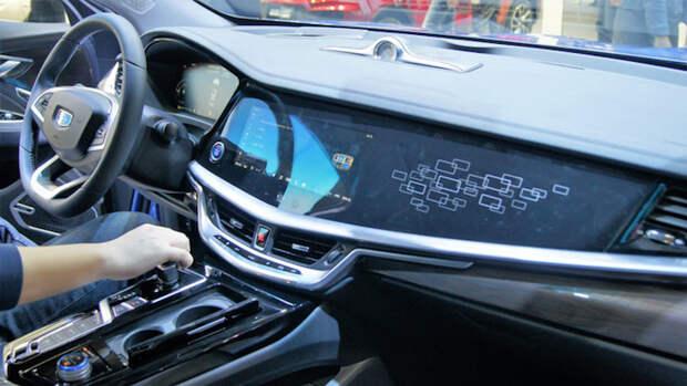 В Беларуси стартовали продажи нового седана Geely GE
