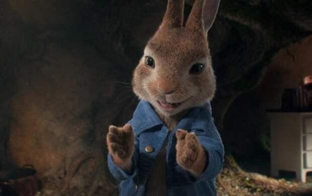 Мультфильм «Кролик Питер – 2» возглавил российский кинопрокат