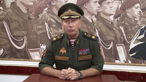 Глава Росгвардии вручил орден Кутузова 4-му полку оперативного назначения