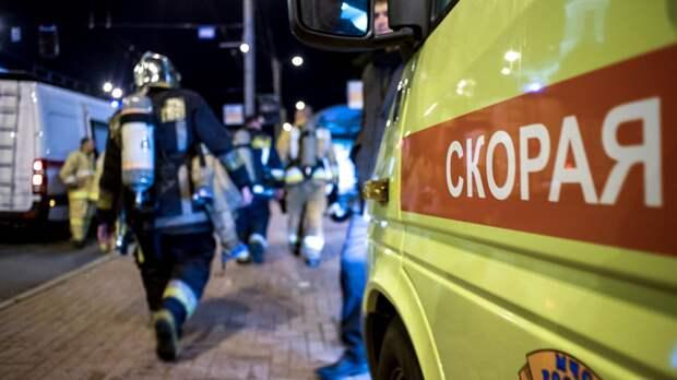 Два жителя Москвы погибли в результате пожара на северо-востоке столицы