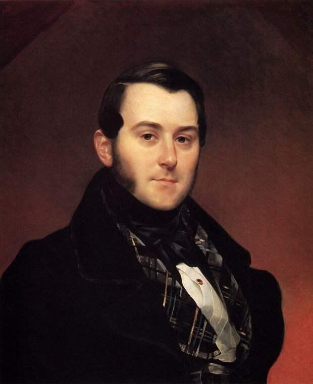 Иван Александрович Бек. худ. Карл Брюллов. ок. 1839 г. Источник: WikiCommons