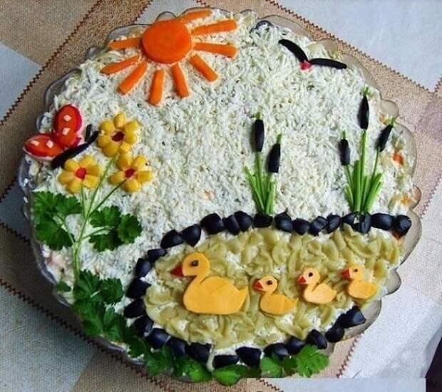 Красивая подача блюд . Идеи.