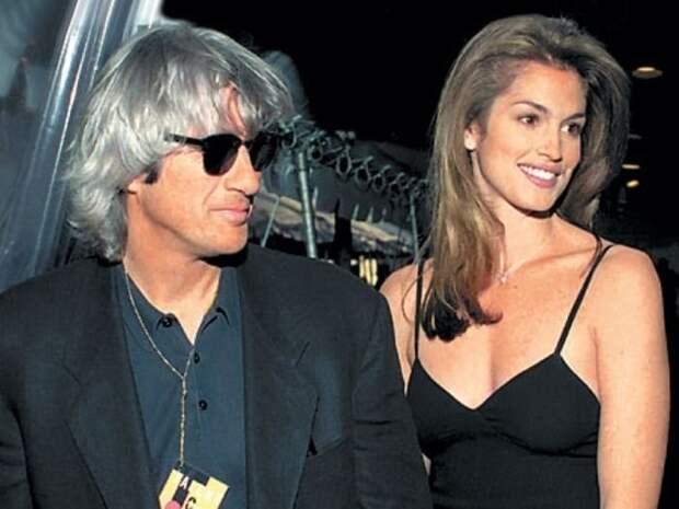 Синди Кроуфорд с первым мужем, Ричардом Гиром, 1994 | Фото: tele.ru