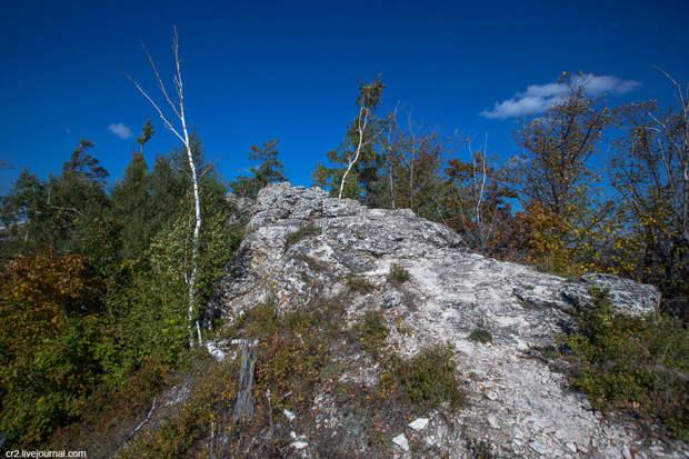 Красоты Жигулёвских гор