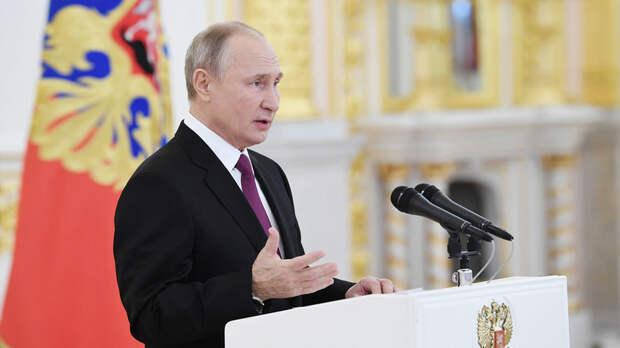 Путин принимает верительные грамоты у иностранных послов