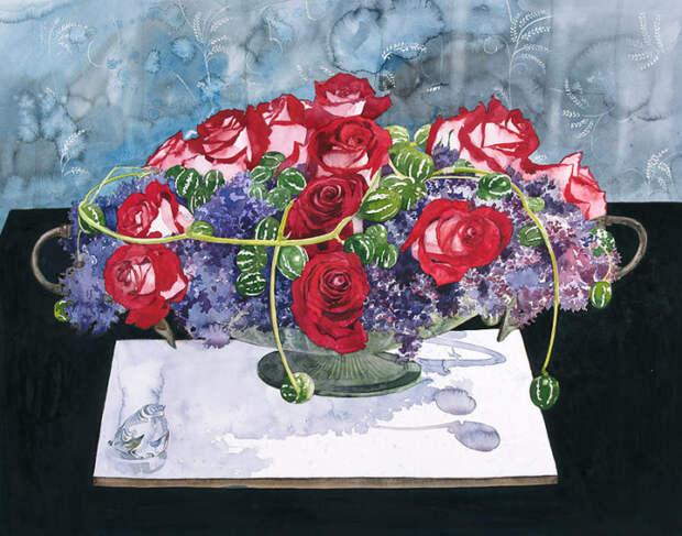 художник Аяко Тсуге (Ayako Tsuge) картины - 10