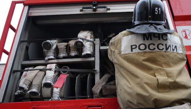 Пожар потушили в гараже в Подольске
