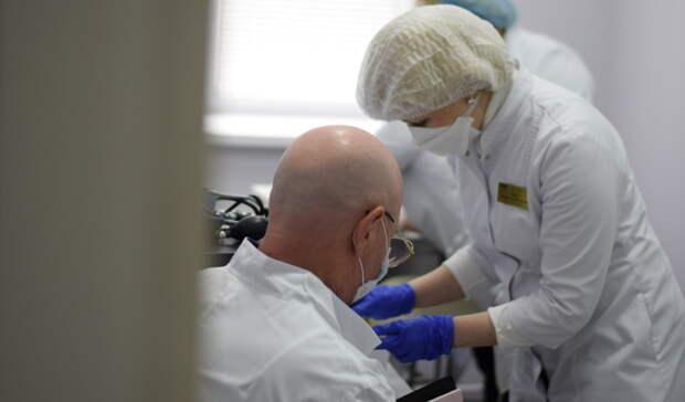 ВВолгограде вакцинацию прошли пациенты госпиталя ветеранов войн