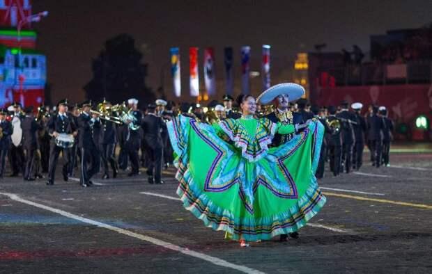 Мексиканский военный оркестр примет участие в «Спасской башне»