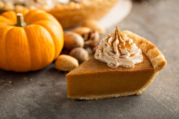 Осенний рецепт: тыквенный пирог