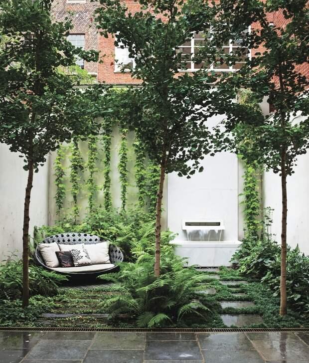 Как обустроить внутренний дворик: 15 отличных идей