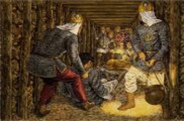 Блог Юрия Хворостова: Как люди в древности вели подземные войны, или Правила правильного подкопа