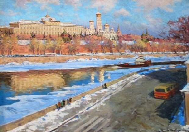 Весенние пейзажи Эдварда Выржиковского, глядя на которые чувствуешь запах весны