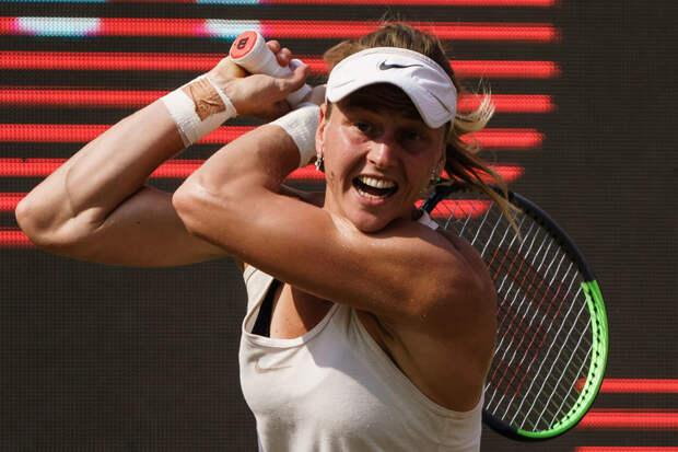 Российская теннисистка Людмила Самсонова впервые выиграла турнир WTA
