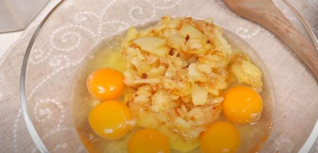 Традиционный испанский омлет только из 3 ингредиентов. Рецепт моей бабушки