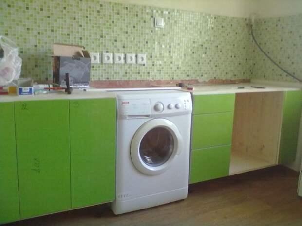 Как я практически в одиночку делал ремонт на кухне с нуля!